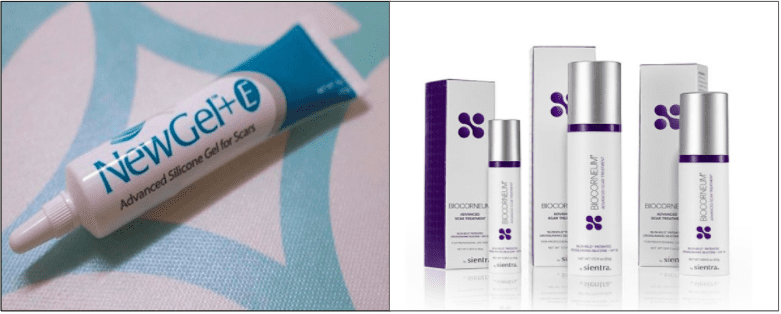 NewGel+ E Silicone Gel with Vitamin E, BIOCORNEUM Advanced Scar Treatment