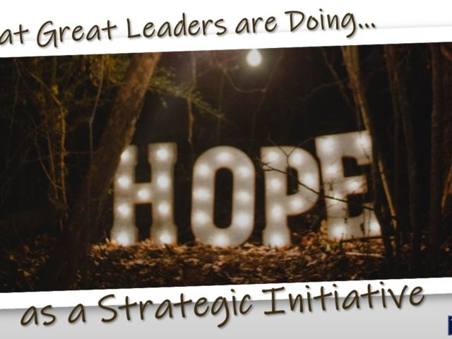 Strategy of Hope