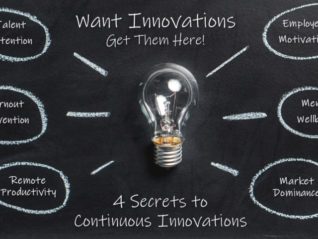 4 secrets to innovation